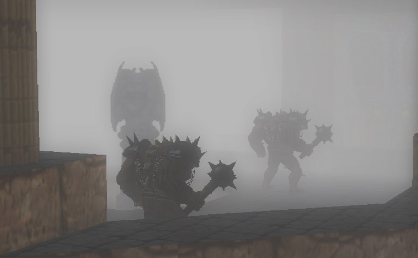 Fog, shaders and 3D model scripting